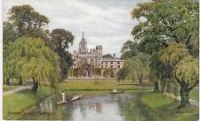 Artist Drawn, St. John's College, CAMBRIDGE, Cambridgeshire - A. R. Quinton