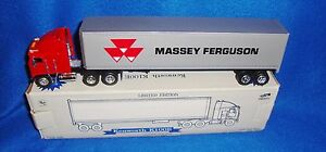 Kenworth-Massey-Ferguson-1-64-Scale-Lockable-Coin-Bank-MIB