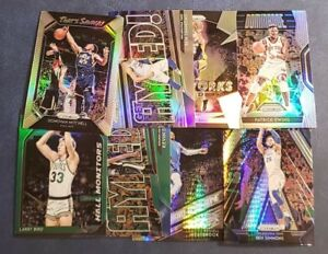 2018-19-Prizm-Silver-Green-Hyper-Dominance-Monitors-Refractor-Inserts-You-Pick