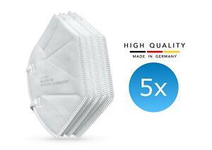 5x SKG medizinische FFP2 Mundschutz Masken CE zertifiziert deutsche Herstellung