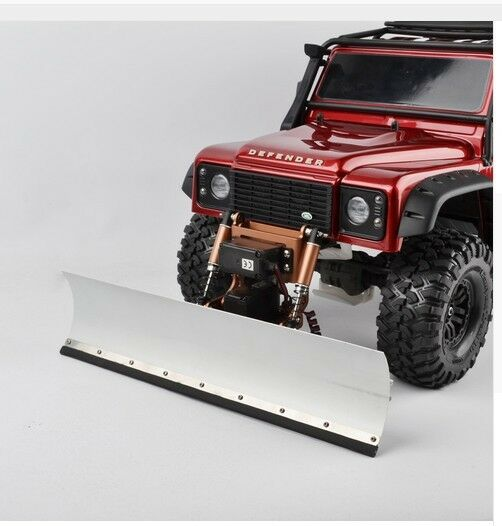 Aluminum rc snow plow for Traxxas TRX-4 Scale & Trail Crawler Chassis