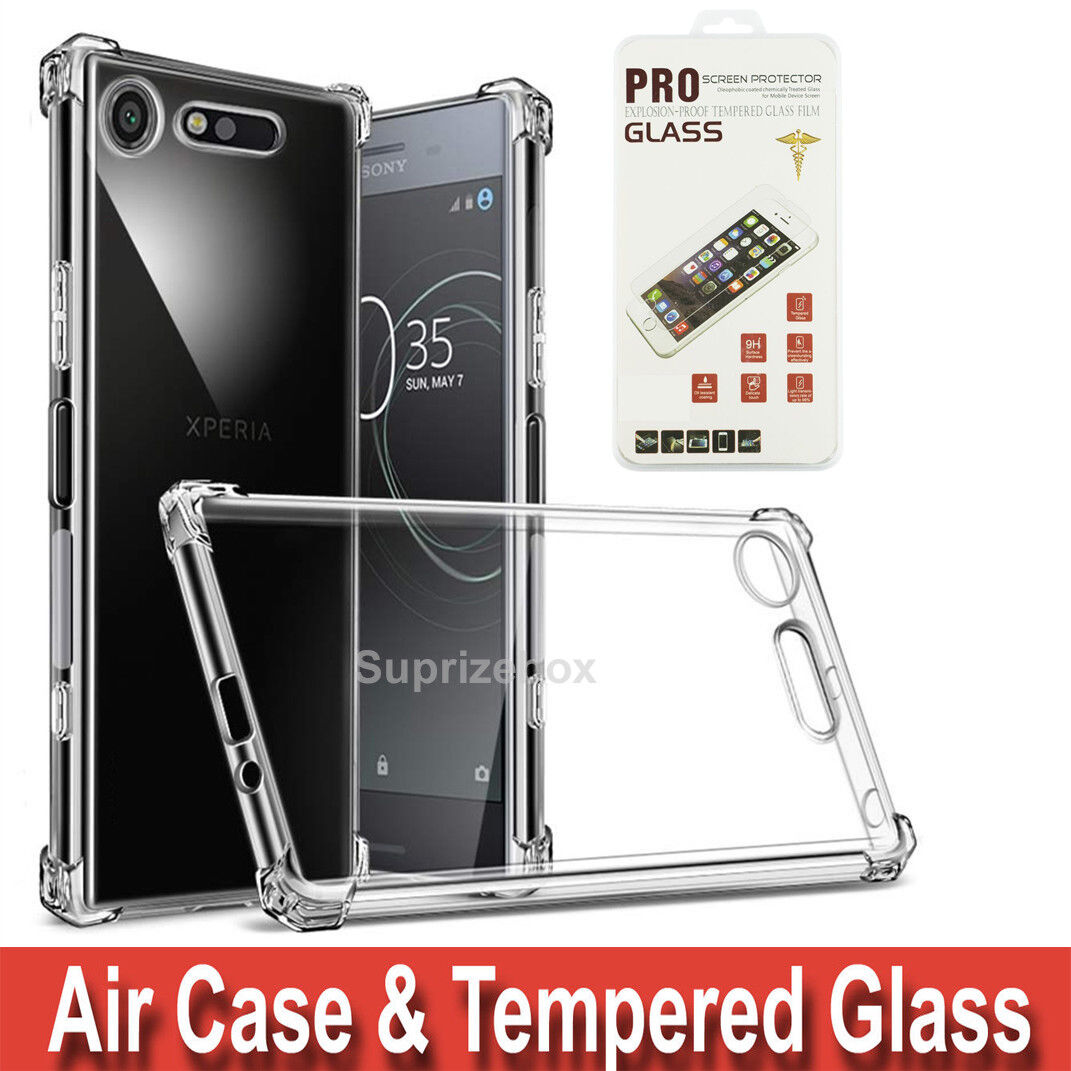 hot sale online 9a5ef 28d81 Details about Case For Sony Xperia XA2 L1 XZ1 XA1 ULTRA XZ2 Shockproof  Cover & Tempered Glass