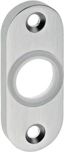 EDI 1392//0000//01 Drückerrosette Aluminium F1 Schildstärke 7 mm  rund oval
