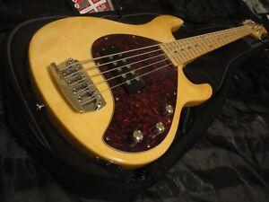2005 olp mm3 maple bass guitar ernie ball musicman stingray 5 strings w gig bag ebay. Black Bedroom Furniture Sets. Home Design Ideas