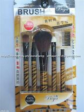#TheBestSeller 50% OFF!BIYA 5PC MAKE-UP COSMETIC TOOLS GOLD ZEBRA SET IN PACK