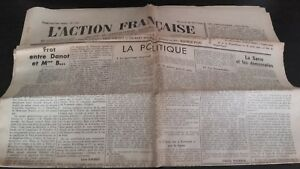 JOURNAL-NATIONALISTE-L-039-ACTION-FRANCAISE-30-MAI-1934-N-150-ABE
