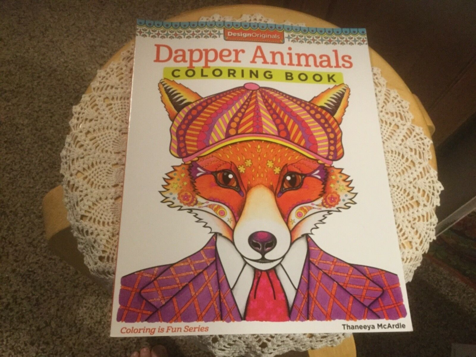 Dapper Animals Coloring Book By Thaneeya McArdle 2014 Paperback