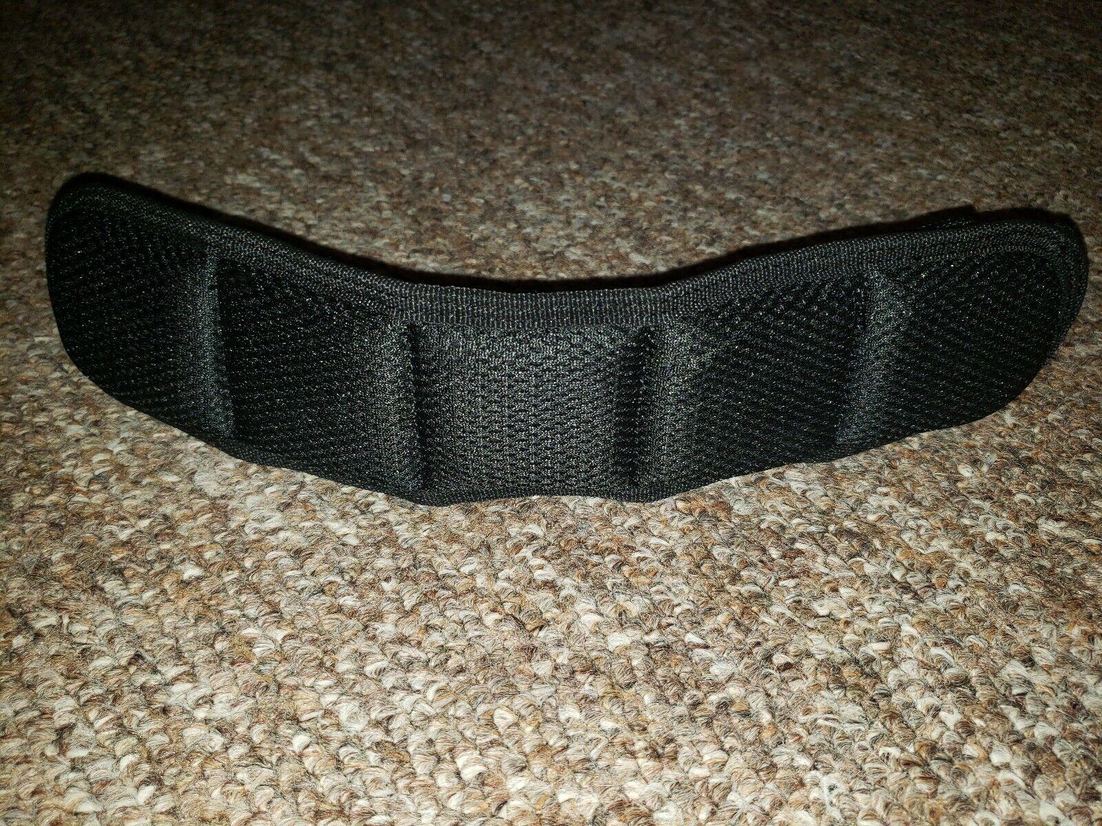 HAZARD 4 ACS-SPAD-BLK Deluxe Shoulder Strap Pad with Molle Top Black