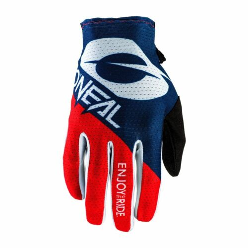 O /'Neal Matrix Stacked MX DH FR Guanti Blu//Rosso 2020 ONEAL