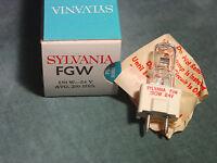 Fgw 150 Watt 24 Volt 200 Hrs Avg Studio Projection Lamp Bulb