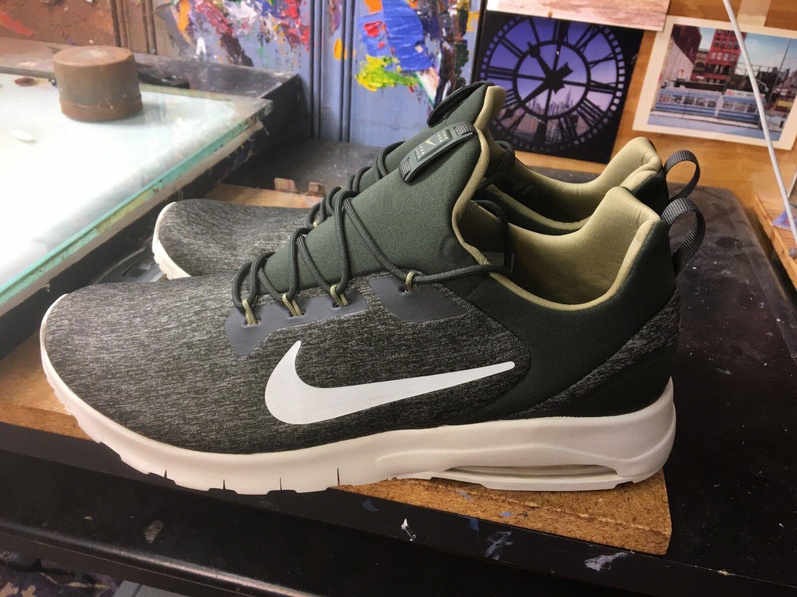 Nike Air Max Motion Racer Sequoia Light Bone Size US 12 Men's 916771 300