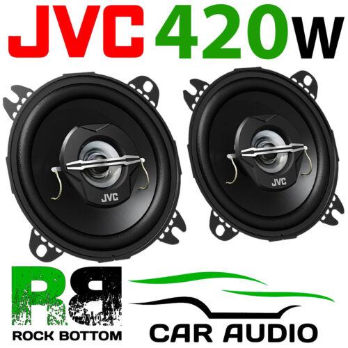 """JVC Para Toyota Aygo 2005-2015 MK1 delantero Dash 4/"""" 10cm 420 vatios altavoces del coche"""