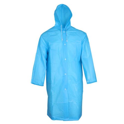 Wasserdichte Regenmantel Regenponcho Regencape Regenjacke Eva Poncho für Herren