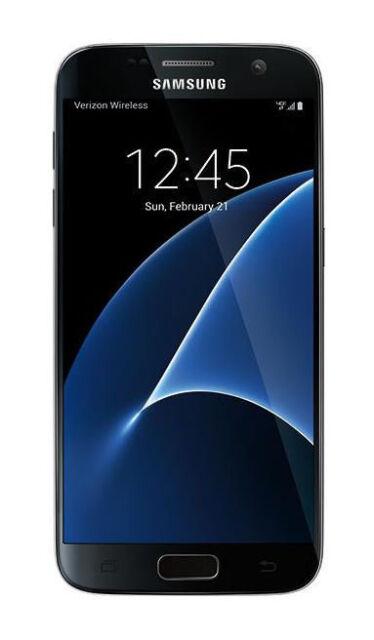 Samsung Galaxy S7 Sm G930 32gb Black Onyx Verizon For Sale Online Ebay