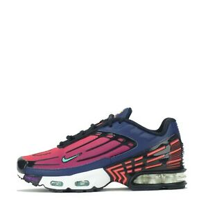 Details about Nike Air Max Plus III 3 Tuned Junior Trainers Shoes Blue, Green