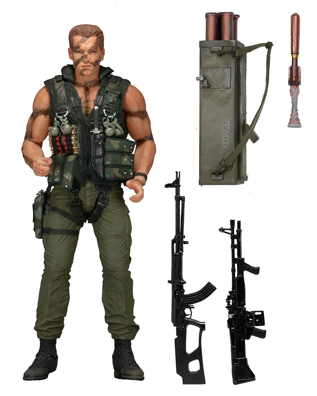 7  commando 30. jahrestag ultimative john matrix actionfigur arnold gehört