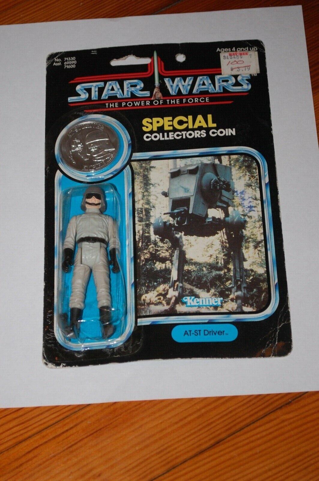 A-Estrella Trek Driver-Estrella Wars-Poder de la fuerza de energía de la fuerza-menta en tarjeta-Vintage-moneda