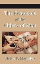 The Protocols of the Elders of Zion (Protocols of the Wise Men of Zion,...