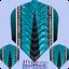 Harrows Flight Supergrip X Flights Standard versch Farben 1er Set 3er Set Dart