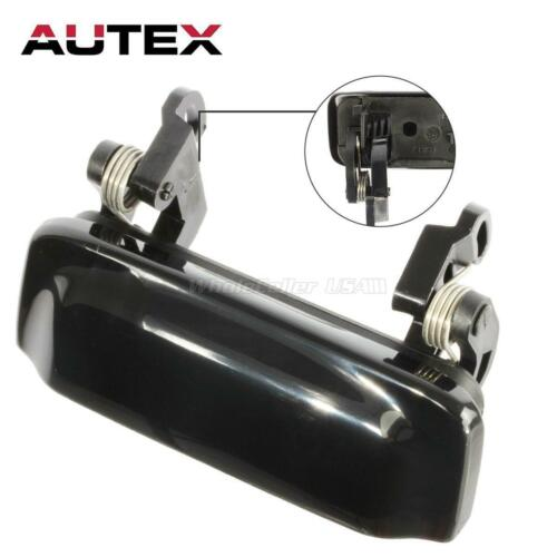 Smooth Black for 2002 2007 Mitsubishi Lancer Front Right RH Door Handle Outside