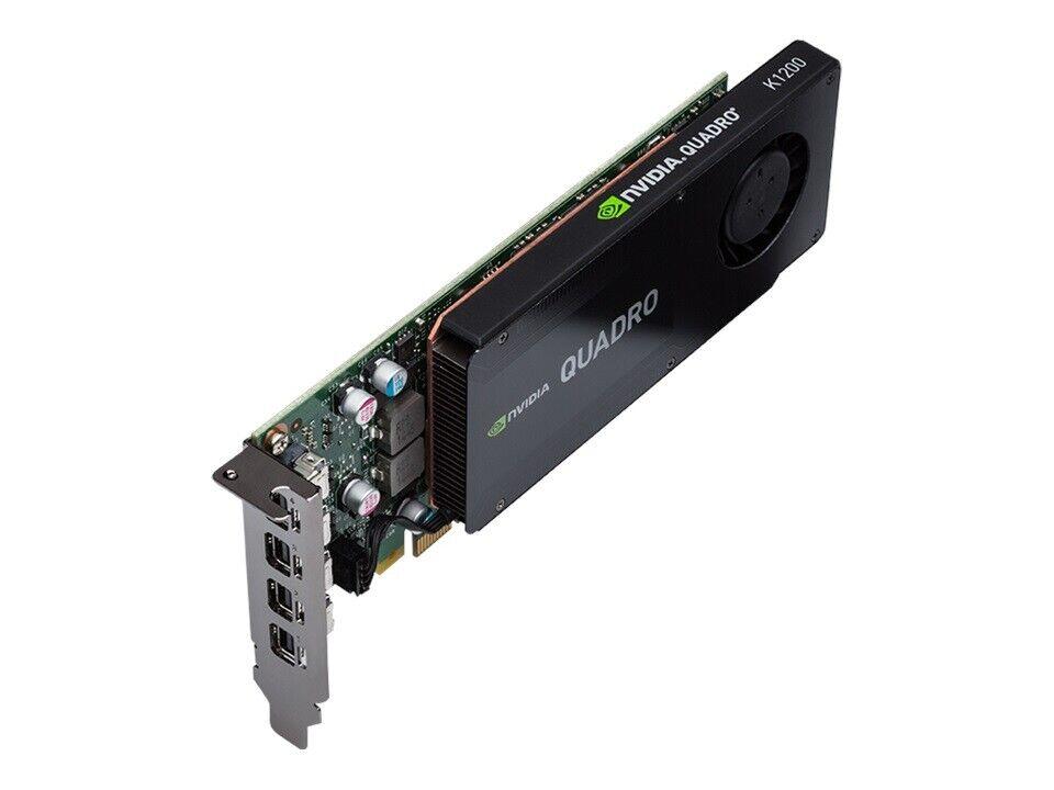 K1200 Nvidia Quadro, 4 GB RAM, God