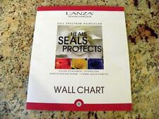 Lanza Healing Hair Color Care Stylist Full Spectrum Paper Wall Chart