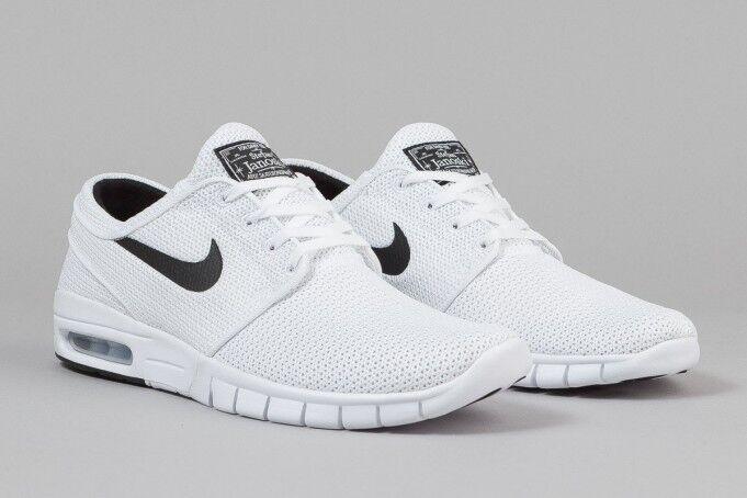 Nike sb stefan janoski max stile maschile scarpe bianco