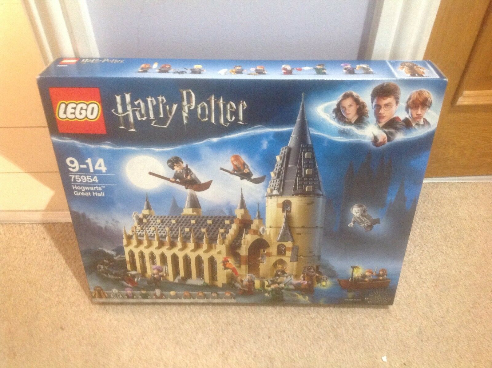 Lego Lego Lego Harry Potter Hogwarts Great Hall NEW IN BOx 84a8b5