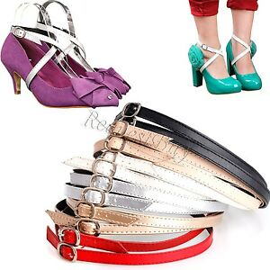 Detachable Shoe Straps To Hold Loose High Heeled Shoes