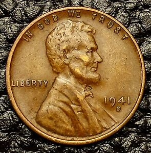 1919 D  COPPER PENNY--FINE--VF