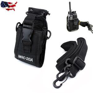 MSC-20A-Universal-Radio-Case-Pouch-Bag-Fr-Baofeng-Wouxun-Puxing-Motorola-Kenwood