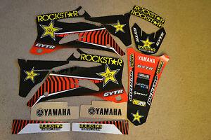 TEAM  ROCKSTAR GRAPHICS YAMAHA YZ250F YZ450F  2006  2007  2008 2009   4 strokes