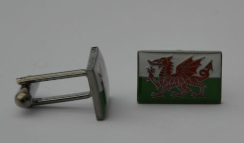 Welsh Bandiera Qualità SMALTO GEMELLI