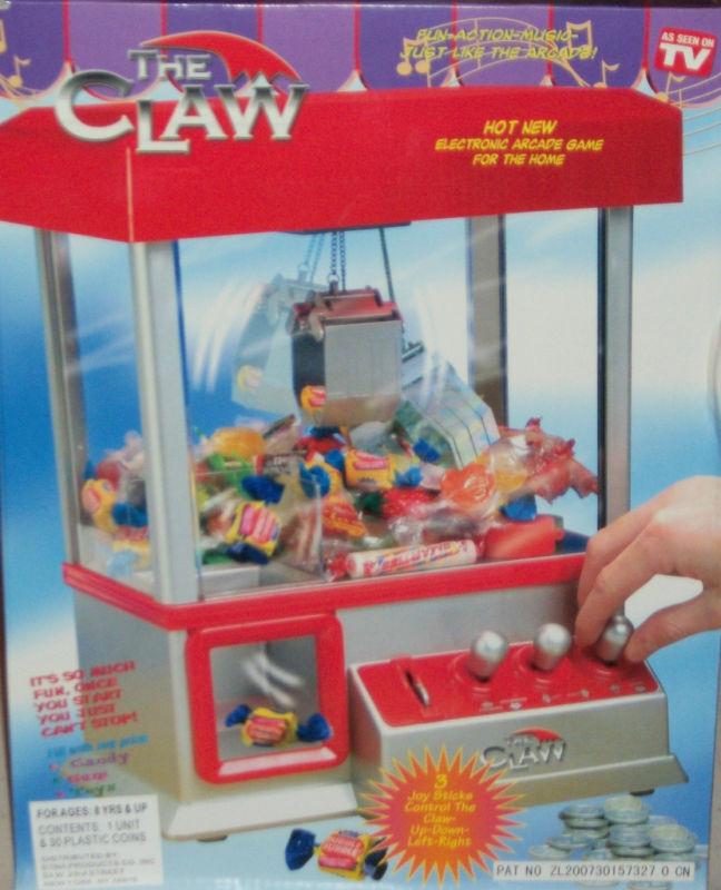 Födelsedagspresent Token leksak Prize Grabber Arcade spel Easter Novelty Överraskning