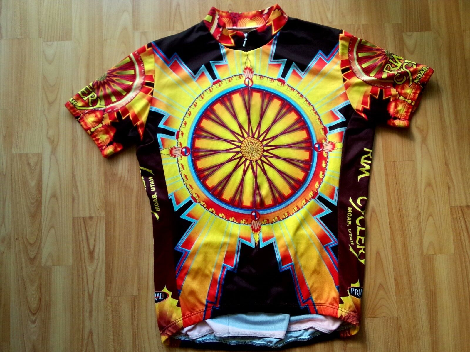 Primal RIM Cyclery Moab Utah Short Sleeve Cycling Jersey Size  M