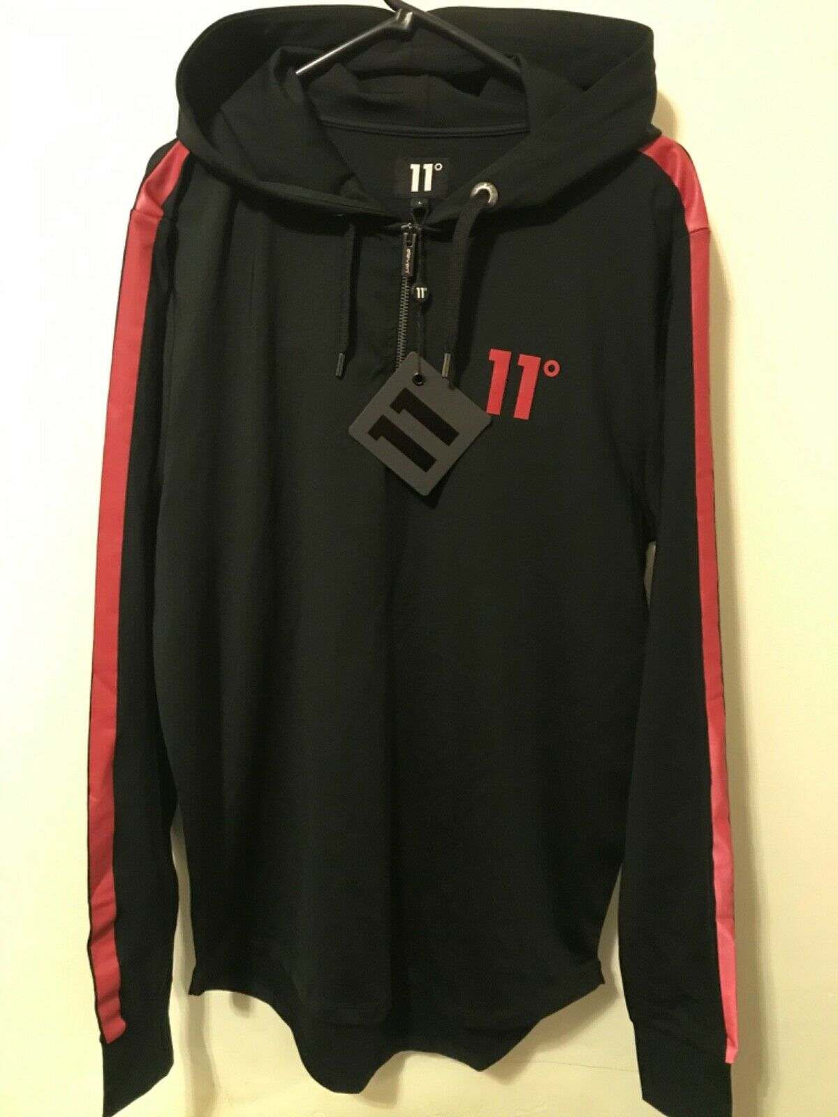 Men's 11 Degrees Reflective hoody size L RRP SALE