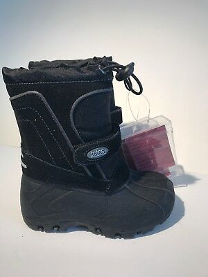 New Boy/'s Toddler Totes Trent Winter Boot Black R33