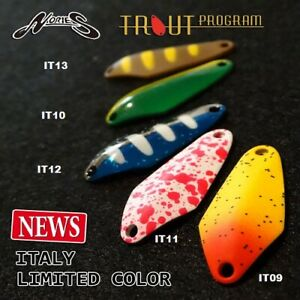 Spoon Ondulante NORIES ROONEY 2.2 gr Trout Area SPINNING TROTA