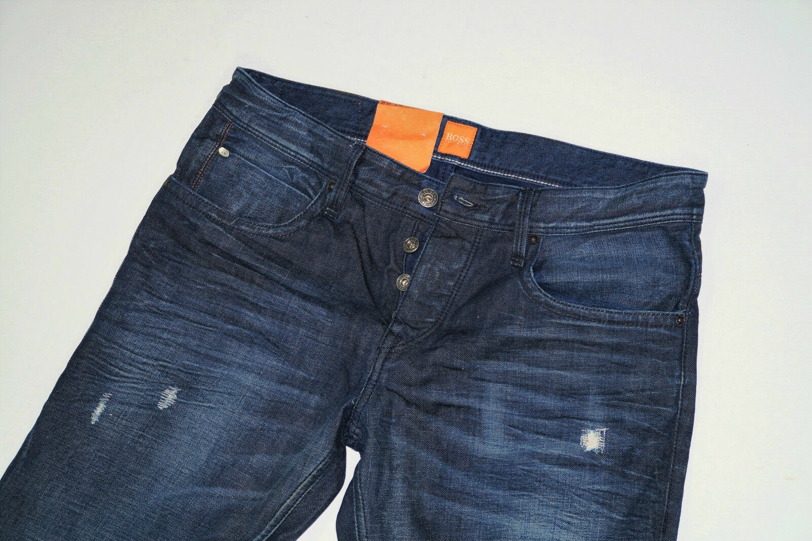 NHugo Boss orange 24 Milano  W33 L36  Used Denim Jeans  Straight Fit  33 36
