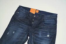 NEU - Hugo Boss Orange 24 Milano - W38 L34 - Used Denim Jeans  Regular Fit 38/34