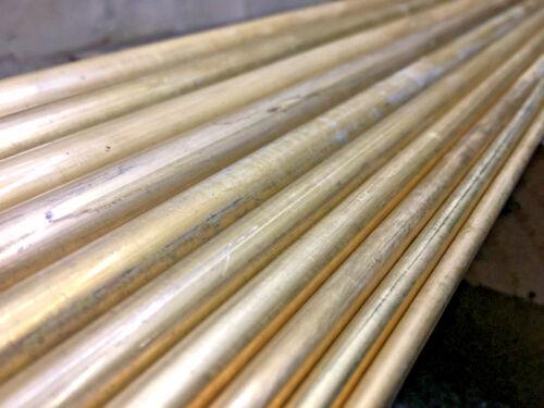 1000mm Lengths 20mm Diameter Brass CZ121 Solid Bar Stock Round Rod Metal 4mm