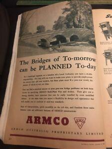 ARMCO-Proprietary-Limited-Original-1940s-Vintage-Australian-Print-Ad-WWII-Era