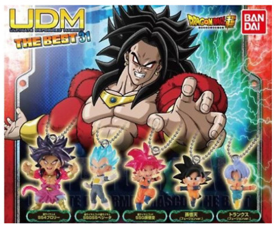 BANDAI DRAGON BALL Z Super UDM The BEST 30 Mini Figure All 6 set NEW JP import