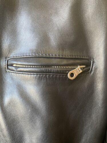 schott leather Motorcycle jacket 54