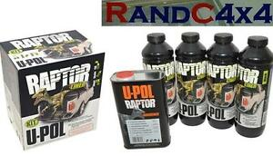 UPOL Raptor Super Tough Urethane Truck Bed Liner Spray On TINTABLE Coating Paint