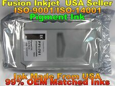 Canon PFI-701 BK Black Pigment Ink ipf 8000 8000s 9000 9000s tank not oem jhgr