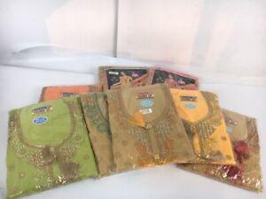 * Thumbs Up Salwar Kameez Traditional Indian Wear Diverses Couleurs Broderie 75-41-afficher Le Titre D'origine Attrayant Et Durable