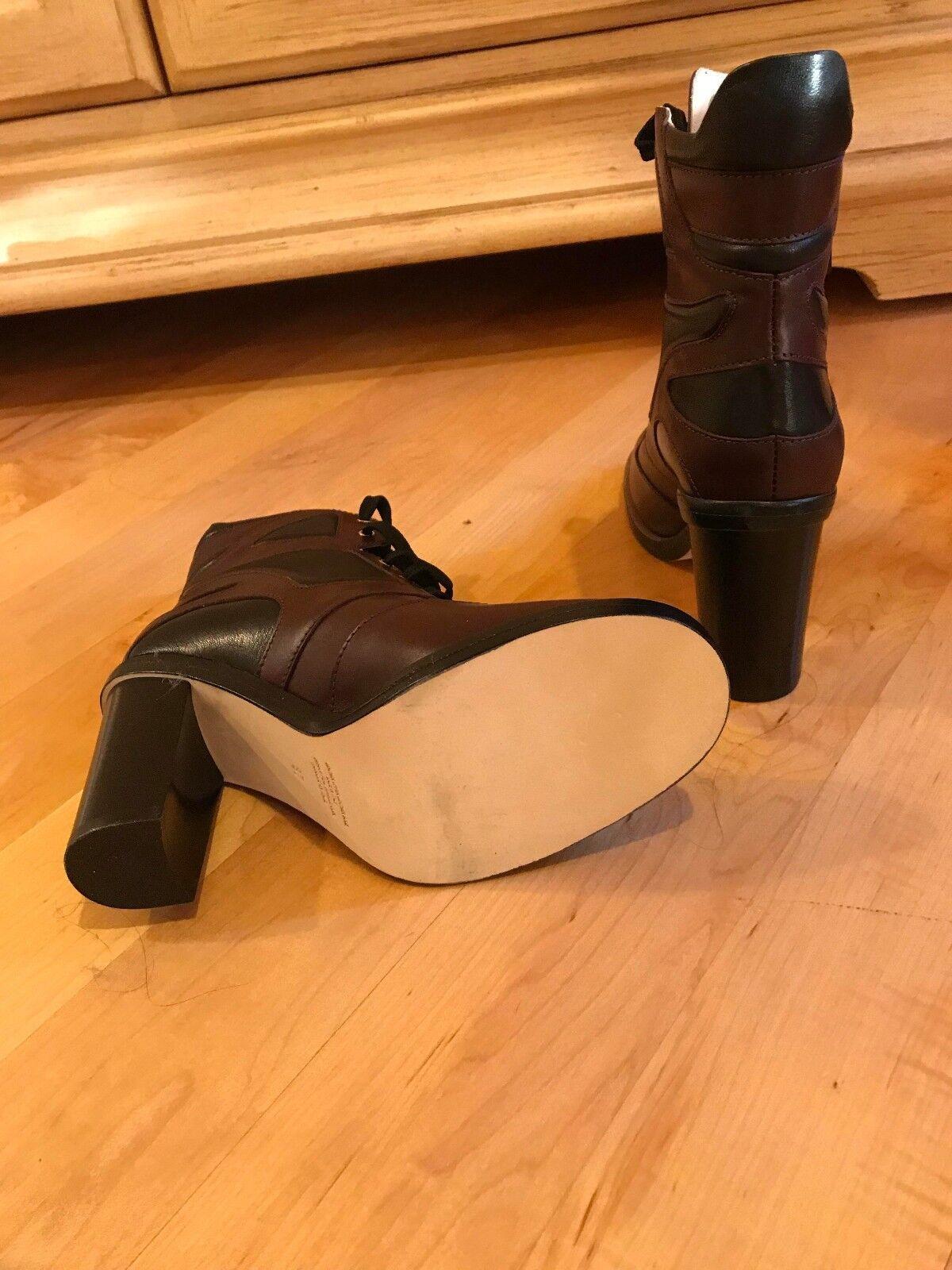 Cuero para Mujer Mujer Mujer Cavallini hecho a mano en Italia Tobillo botas Talla 6 Nuevo 06c6de