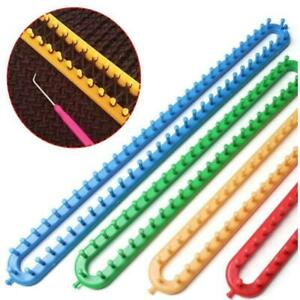 Knitting-Loom-Set-Craft-DIY-Tool-Kit-Sock-Scarf-Hat-Sweater-Maker