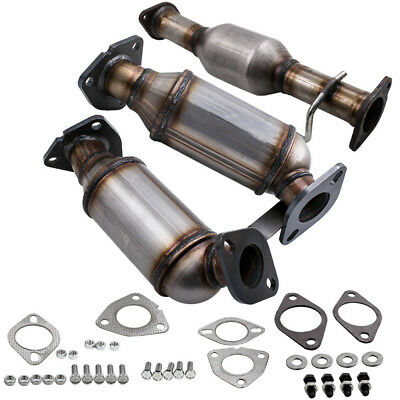 Rear Bank 1 CATALYTIC CONVERTER 2007-2010 SATURN OUTLOOK 3.6L Front 2
